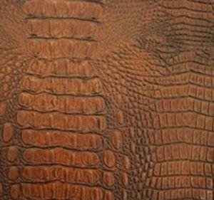 Croc Mahogany
